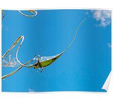 pin-sky cushion Poster