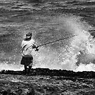 Man Versus the Sea by DawsonImages