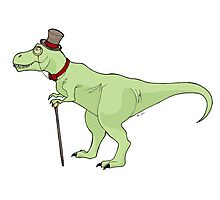 Dapper Dino Photographic Print