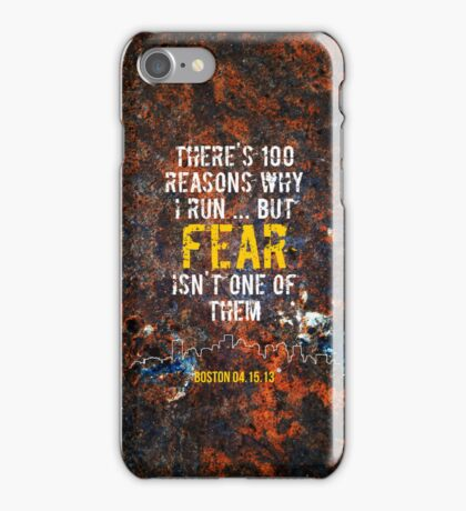 There's 100 Reasons To Run | Boston Strong iPhone Case/Skin