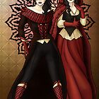 The Queen and Red Riding Hood by CatAstrophe