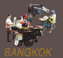 BANGKOK street scenes One Piece - Short Sleeve