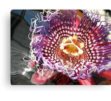 Petal to the Metal Canvas Print