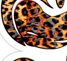 Black Leoapard Mickey Sticker