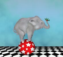 The Holly and The Elephant by Kim  Harris
