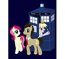 Dr. Whooves Design Photographic Print