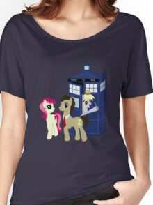 Dr. Whooves Design Women's Relaxed Fit T-Shirt