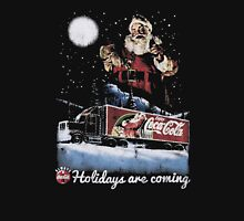 Coca-Cola Holidays Are Coming Lightweight Christmas Jumper T-Shirt