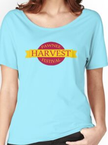 Pawnee Harvest Festival logo Women's Relaxed Fit T-Shirt