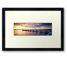 Sentinels Of The Deep Framed Print