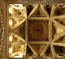 Ornate Ceiling, Mezquita, Cordoba by wiggyofipswich