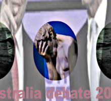 Australia votes leaders debates 2313 Sticker