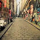Beautiful Alley Melbourne by David Gan