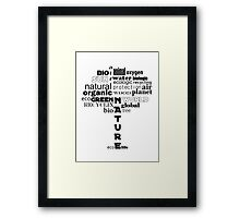 Ecotree Framed Print