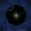 Minimalist Star Trek The Motion Picture by GeekFilter