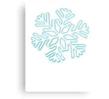 Snowflake Canvas Print