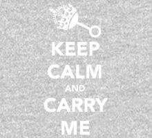 Keep Calm and Carry Me One Piece - Long Sleeve