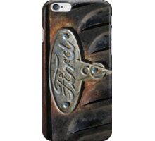 Old Ford Emblem - iPhone Case iPhone Case/Skin