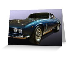 Iso Grifo Greeting Card