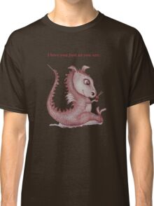 'I love you just as you are' Red Dragon, small friend Classic T-Shirt