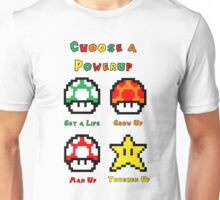 Mario Mushrooms 2 Unisex T-Shirt