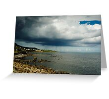 View from Carnlough Greeting Card