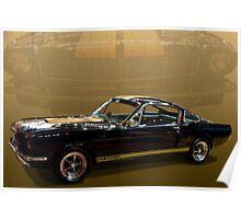 Shelby 350 Hertz Poster