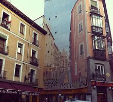 Street Art In Madrid by sophtoria33