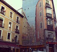 Street Art In Madrid by sophtoria33