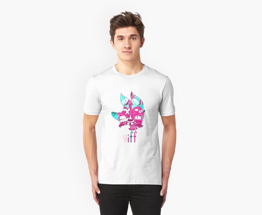 YIFF- pop art t-shirt by milkjug