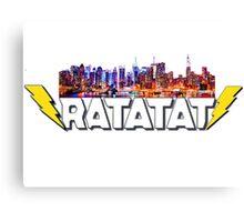Ratatat NYC Lightning Logo Canvas Print