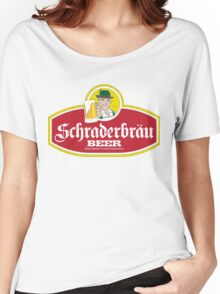 Schraderbrau Logo Women's Relaxed Fit T-Shirt