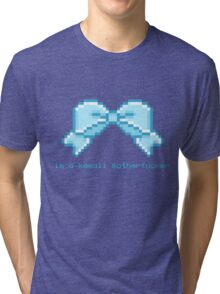Kawaii motherfucker t-shirt LIGHT BLUE Tri-blend T-Shirt