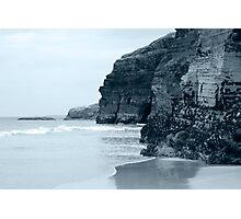 high cliffs on the irish coast Photographic Print