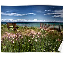 A Bench With a View Poster