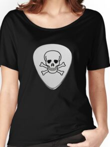 Skull & Bones Plectrum Women's Relaxed Fit T-Shirt