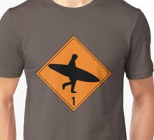 Danger Sign Unisex T-Shirt
