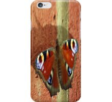 Butterfly shadows iPhone Case/Skin