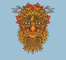 Autumnal Green Man Unisex T-Shirt