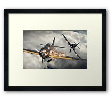 Watch your six! Framed Print