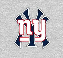 Ny Yankees Ny Giants Mashup Unisex T-Shirt