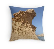Desert wave Throw Pillow