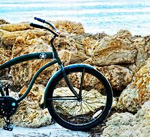 Beach Cruiser - Bicycle Art By Sharon Cummings by Sharon Cummings