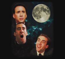 three Cages moon (Nicolas Cage) by Faniseto