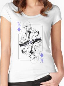 King of Blue Diamonds Women's Fitted Scoop T-Shirt