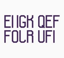 FUCK OFF (purple) by graciestlou