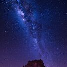 Milky way over Rainbow Valley - Central Australia by Mark Shean