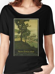 Vintage poster - New England Women's Relaxed Fit T-Shirt