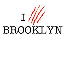 I (CLAW)VE BROOKLYN by omondieu