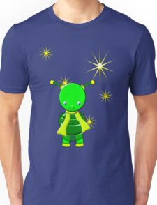 A Little Girl Green Alien T-shirt Unisex T-Shirt
